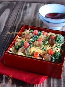 思い立ったらすぐできる簡単ちらし寿司