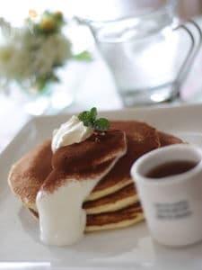 ティラミス風パンケーキ