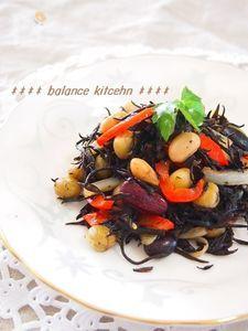 【常備菜】ひじきとパプリカのマリネ風炒め