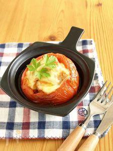 焼きトマトのファルシ―