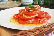 トマトのハニーサラダ