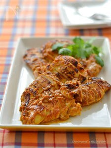 フライパンで!鶏むね肉のタンドリーチキン