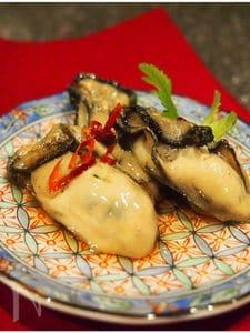 牡蠣のオイル漬