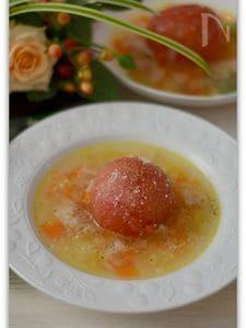 トマト丸ごとスープ