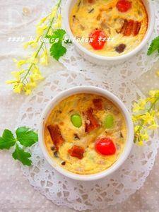 簡単!鰻と枝豆の豆乳キッシュ