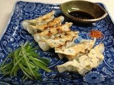 ささみと椎茸のプリプリ和風焼き餃子