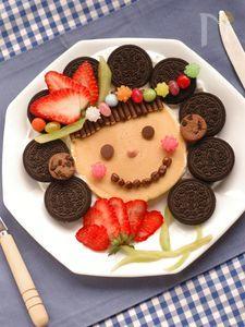 パパと子どもが作る母の日メニュー♪ママのスマイルホットケーキ