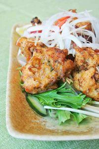 鶏むね肉の山椒味噌から揚げ