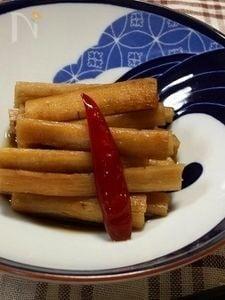 新ごぼう☆ポン酢で簡単お漬物
