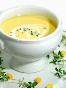 まるごとゴールドラッシュのコーンスープ