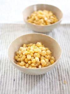 みわくのコーン【ゴールドラッシュ】のシャキシャキ塩ナムル