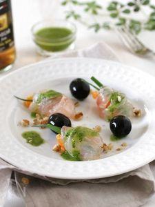 真鯛のシトラスマリネ