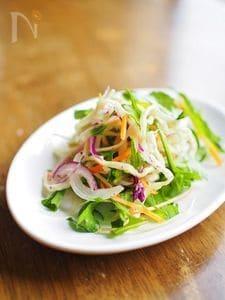 切干し大根&野菜を和えるだけ★デリ風サラダ
