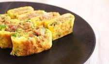 豚生姜の卵焼き