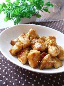 鶏むね肉の柔らかコロコロマヨカレー焼き