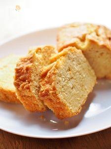 ふるいなし!混ぜていくだけ★米粉のパウンドケーキ