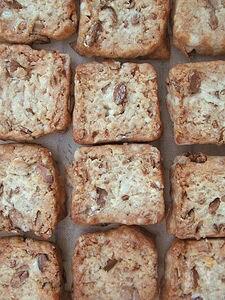 大豆ときな粉のクッキー