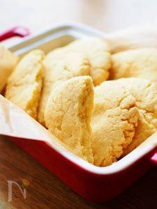 さっくり&ホロッとくちどけ★米粉クッキー