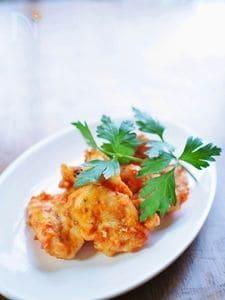 やわらか鶏胸肉のフライパン・トマトソース