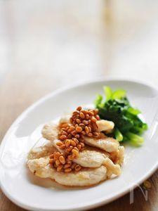 鶏胸肉のソテー★醤油麦麹ソース