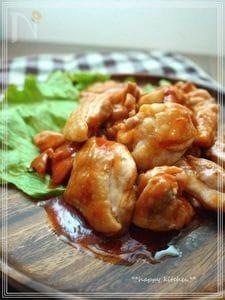 子供が好きなチキンのバーベキューソース焼き(簡単!)