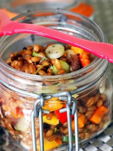 wheatberry summer salada