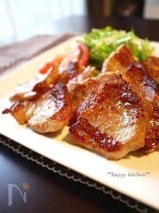 魚焼きグリルで焼くだけ、豚バラ肉のガーリックレモングリル