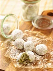 スノーボールクッキー(抹茶味)