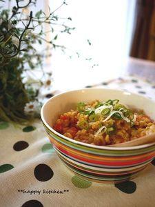 ご飯に乗っけて♪ふんわり優しい豆腐の味噌そぼろ
