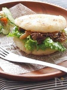 すき焼きライスバーガー