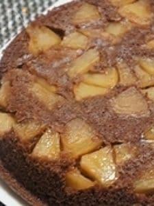 シナモンアップルチョコレートケーキ