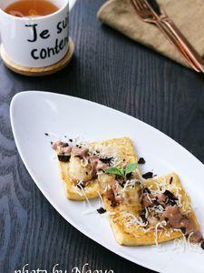 高野豆腐のフレンチトースト(糖質オフ)