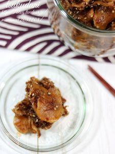 常備菜・新生姜の佃煮。