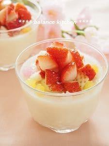 【ひな祭り】混ぜるだけ!甘酒の豆乳ヨーグルトババロア