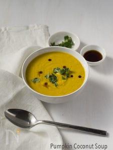 かぼちゃとココナッツミルクのスープ