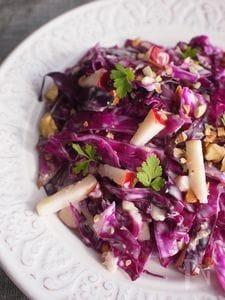 紫キャベツとりんごのサラダ
