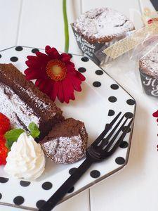 卵白だけで!瞬溶け生チョコケーキ