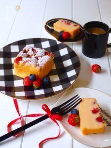 オーブントースターで出来る!苺チーズケーキ