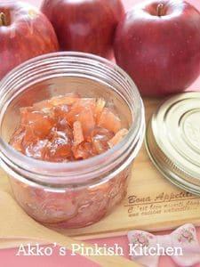 林檎のコンフィチュール♡炊飯器で作る糖度30%のりんごジャム