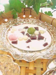 水羊羹のココナッツミルクチェー風