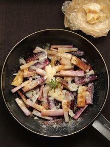 パルミジャーノ・レッジャーノでたべる焼き根菜