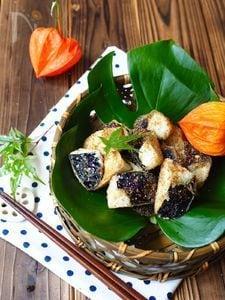 茄子の唐揚げ〜ピリッと山椒味