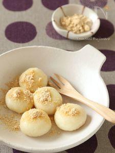 豆腐白玉だんご