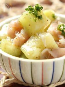 すだち香る水茄子と生ハムの前菜〜簡単時短おもてなし料理〜