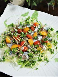 秋刀魚のレモンマリネ