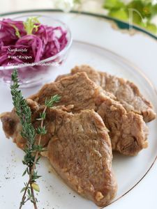 豚肉のバルサミコ醤油煮