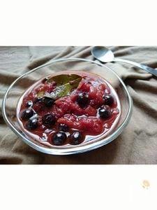 お弁当に〜肉に魚にブルーベリートマトソース(作りおき)〜
