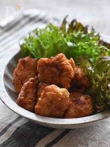 また作って!鶏のから揚げ柚子胡椒風味。(鶏むね肉)
