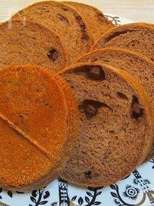 天然酵母のバニラショコラメッシュパン♪