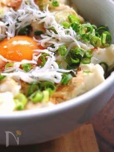 豆腐とシラスの簡単絶品TKG